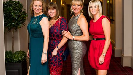 Jane Carruthers, Kath Donnelly, Anne Riddell and Amy Mayers