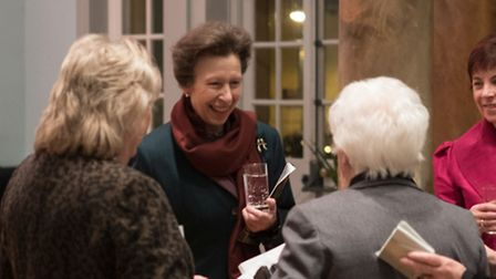 HRH the Princess Royal greets guests (pictures by Glenn Parker)