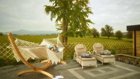 The new spa at Fishmore Hall, Ludlow, Shropshire
