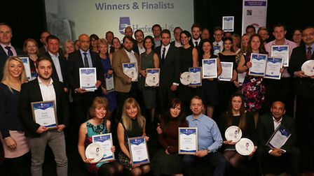 All the finalists and winners (photo: Danny Loo)