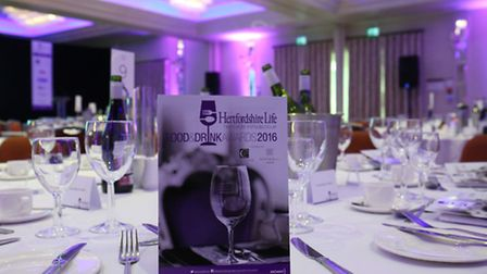 The Hertfordshire Life Food and Drink Awards held at Sopwell House (photo Danny Loo)