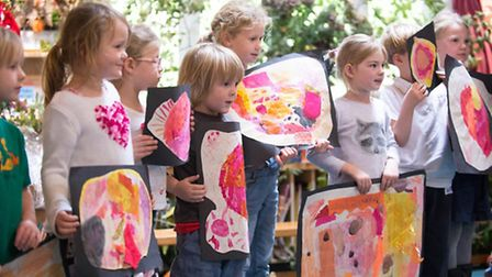 Creativity and 'learning by doing' are integral parts of the curriculum