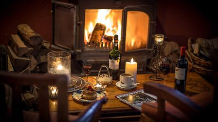 Cosy by the fire at La Popote