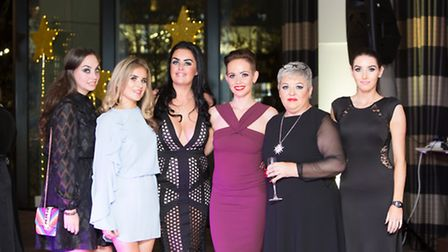 Kirsty Lucas, Elkie Fawcett, Claire Whittle, Hayley Cairns, Bernadette Turner and Gemma Dyson (all C