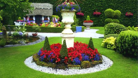 The charming and winning garden of Sue Murray and Les Jones at Neston on the Wirral