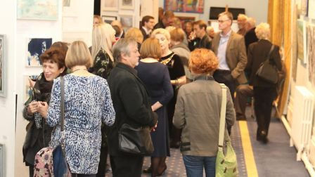Private view of Sue Ryder Leckhampton Court Art Affirming Life The Leckhampton Court Art Exhibition