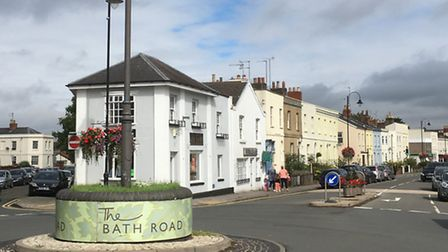 The Bath Road roundabout