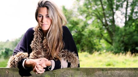 Former professional horsewoman turned author Lottie Prentice at her home near Birdlip
