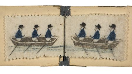 Horatia's needle book. Courtesy of the National Maritime Museum, London