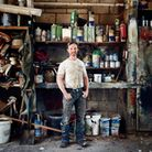 Stephen Dennet of Michael Dennet Boatbuilders, one of featured works in the Portraits Of Runnymede e