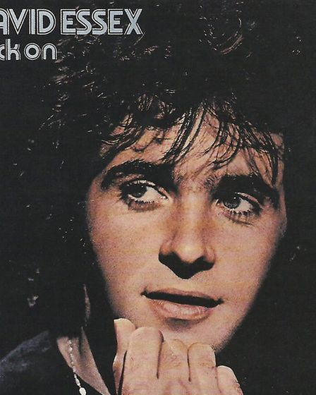 The slinky Rock On was among the hits that launched David into superstardom