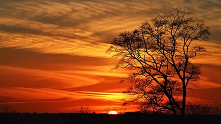 """2nd Place: Jose Perefan from Harrietsham, Blood red sky. """"In stark contrast to the winner, the vibra"""