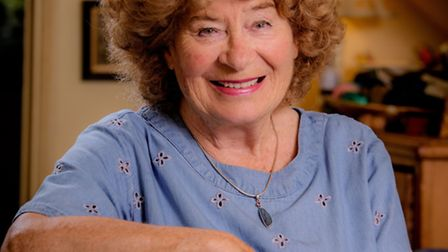 Folk singer Shirley Collins in Lewes (Photo by Jim Holden)