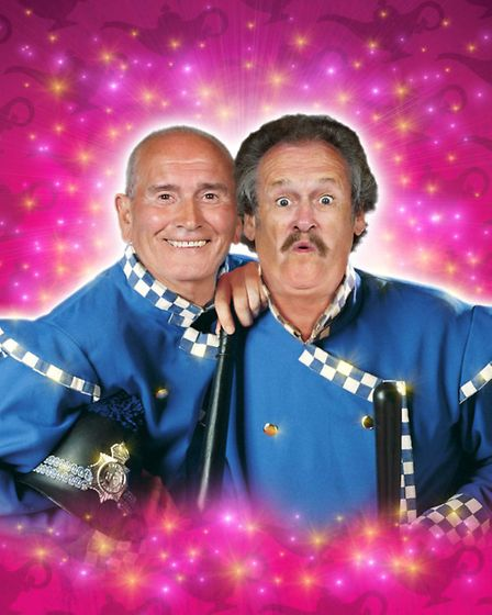 Cannon and Ball star in Aladdin at the Crewe Lyceum
