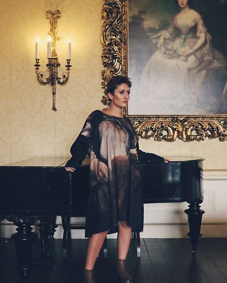An arty take on dressing. Rundholz dress in Dutch Masters design, £471