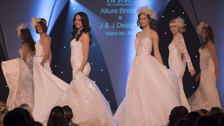 Brides get ready for Tatton Wedding Show