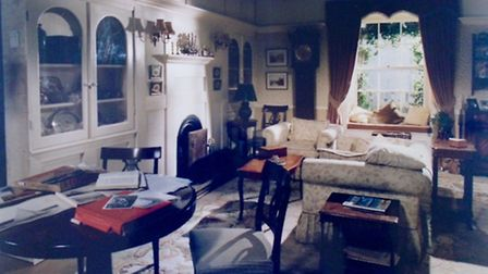 A bedroom designed by Lynda for the BBC series