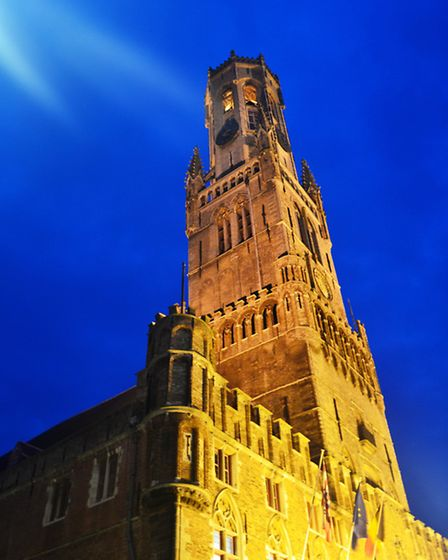 The Belfort is found right at the heart of Bruges