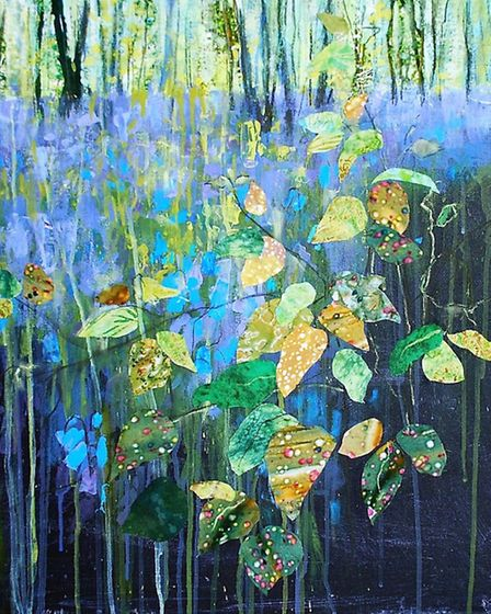 Brambles and Bluebells by Anna Perlin