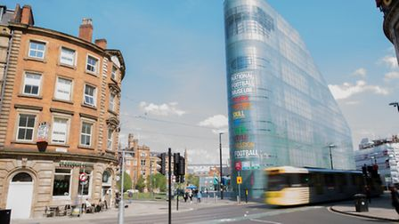 National Football Museum and Printworks, Urbis Building, Cathedral Gardens, Manchester