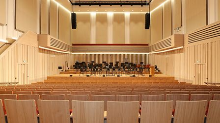 The Stoller Hall at Chetham's School of Music
