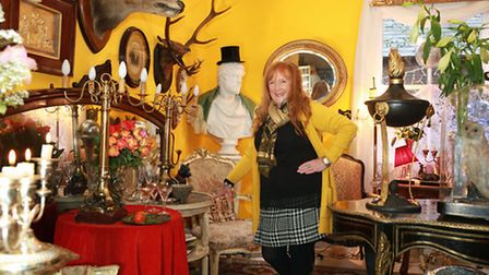 Francesca Archer at Tatton Interiors and Decorative Antiques in Knutsford