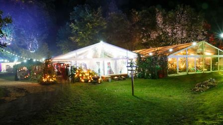 Clear gabled marquees (c) Oasis Events