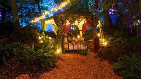 Partygoers could take a rest before dancing into the night (c) Oasis Events
