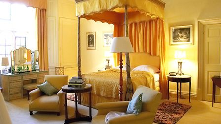 Stay in the Fairfax Room at lovely Leeds Castle