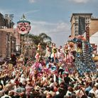 Mardi Gras REX parade on Canal Street in 1961. Photo: H. Armstrong