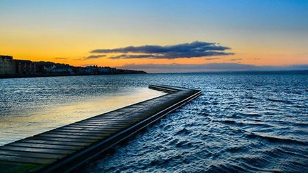 Marine Lake, West Kirby by Kevin Lyth