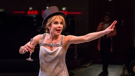 Kaisa Hammarlund in Sweet Charity at Manchester Royal Exchange, Photo by Richard Davenport