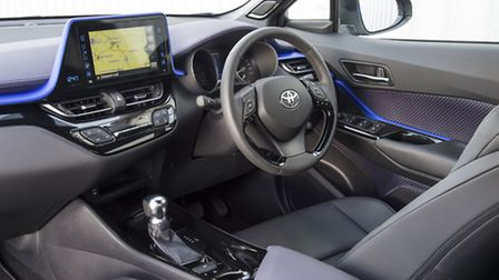 'The first thing that strikes you about the interior is the quality'