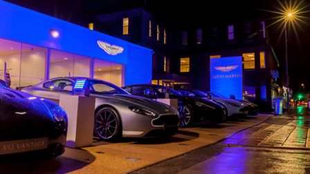 The new Aston Martin Wilmslow dealership