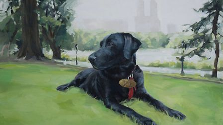 Lottie in Central Park by Amy Hughes from Davenham who is now based in New York