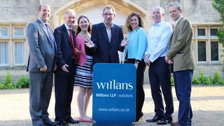 Some of the Willans' team