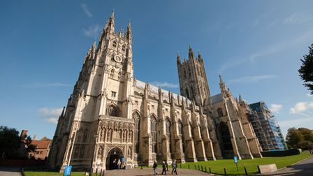 Canterbury Cathedral dates back in parts to the 11th century