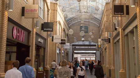 Whitefriars is the modern heart of shopping in this historic city