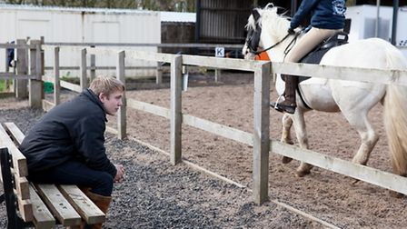 Liam found new purpose working with horses