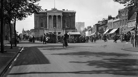 St Albans Town Hall, c1930