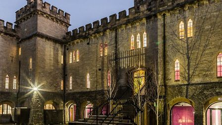 Cirencester Castle at night