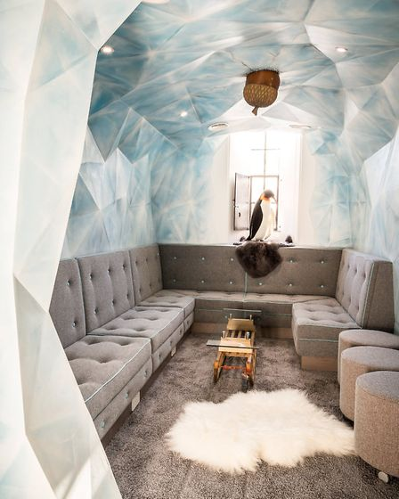 The Ice Cave meeting room (c) Chris Terry