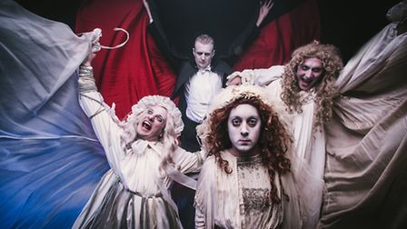 A new show in a comedy vein from Le Navet Bete their take on the story of Dracula which will play i