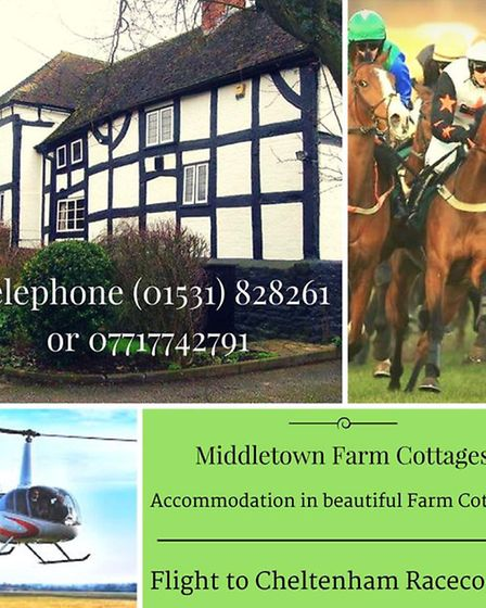 Race Week offers at Middletown Farm Cottages, Newent