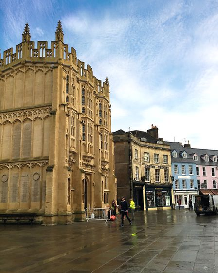 Cirencester's Market Place