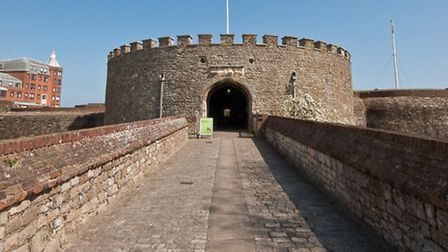 Deal Castle was an artillery fort