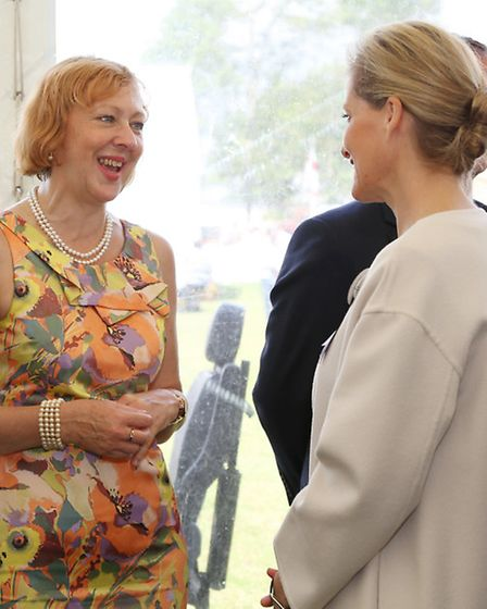 Louise Taylor meets HRH, The Countess of Wessex, GCVO President, The Cheshire Agricultural Society