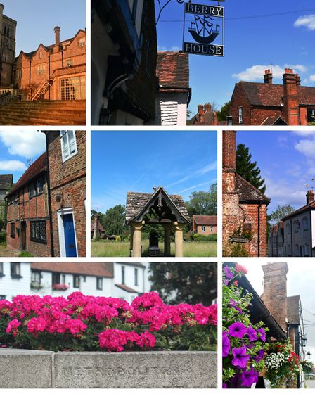 East Horsley, Limpsfield, Shere, Wonersh, Thames Ditton, Lingfield and (centre) Ockley
