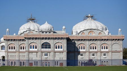 Gravesend's gurdwara is one of the largest outside India