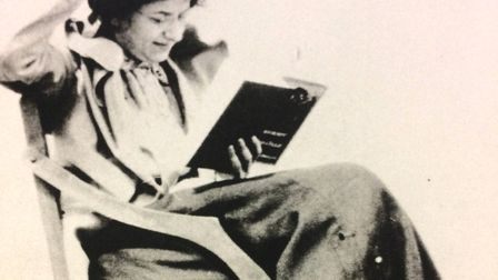 Eleanor Farjeon aged 30 (photographed in Norfolk)